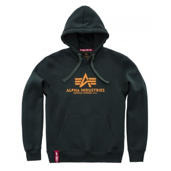 Basic Hoody - dark petrol