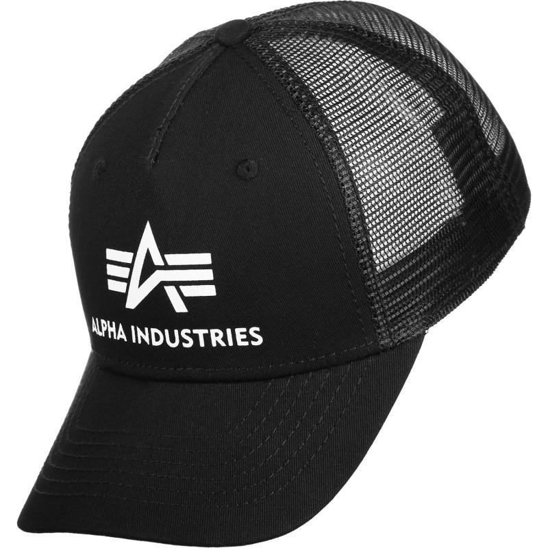 Basic Trucker Cap - black