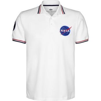 NASA POLO - white