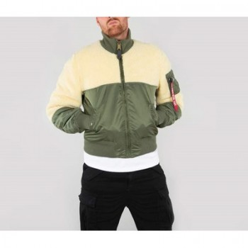 Teddy Jacket - sage green