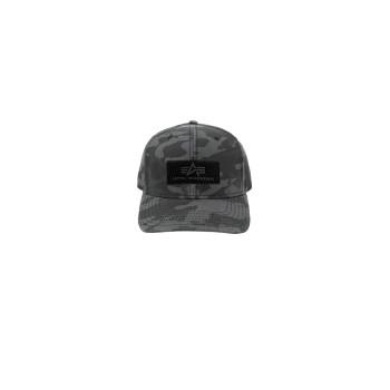 Velcro Cap - black camo
