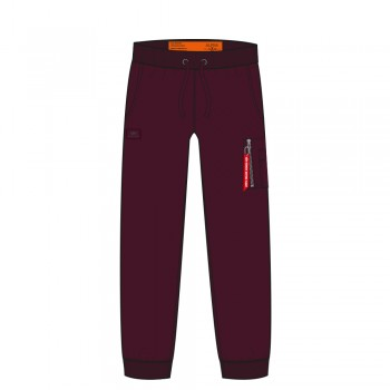X-Fit Slim Cargo Pant - deep maroon