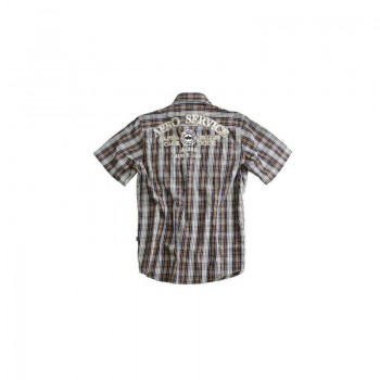 Alpha Aero Club Shirt - brown - sale
