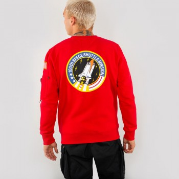 Space Shuttle Sweater - speed red