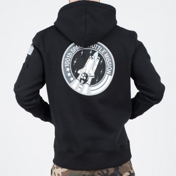 Space Shuttle Hoody - black