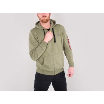 X-Fit Zip Hoody - olive