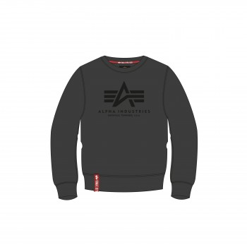 Basic Sweater - greyblack/black