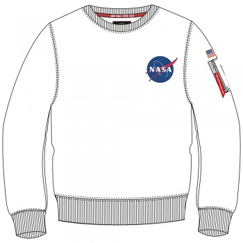 Space Shuttle Sweater - white