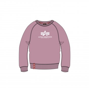New Basic Sweater Woman - silver pink