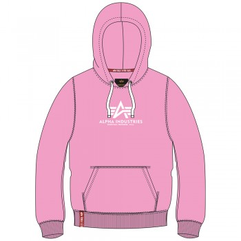 New Basic Hoody Woman - pastel/neon pink