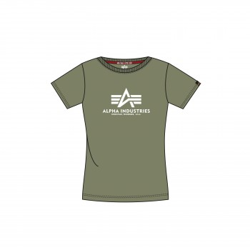 New Basic T Woman - olive