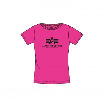 New Basic T Woman - neon pink