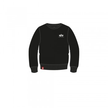 Basic Sweater Small Logo Kids/Teens - black