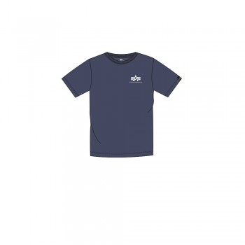 Basic T Small Logo Kids/Teens - navy