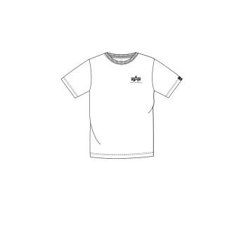 Basic T Small Logo Kids/Teens - white
