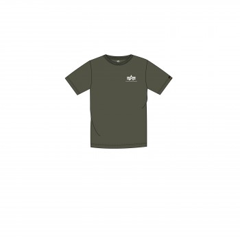 Basic T Small Logo Kids/Teens - dark olive