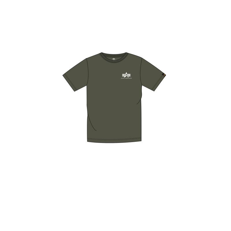 Basic T Small Logo Kids/Teens - dark olive