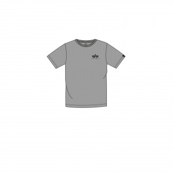 Basic T Small Logo Kids/Teens - greyheather