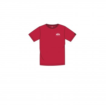 Basic T Small Logo Kids/Teens - speed red