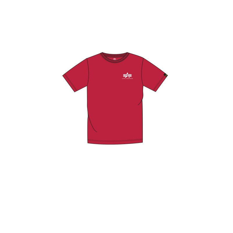 Basic T Small Logo Kids/Teens - speed red