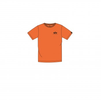 Basic T Small Logo Kids/Teens - alpha orange