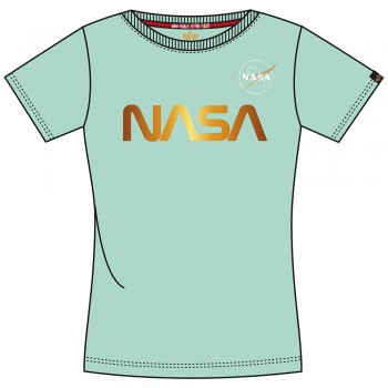 NASA PM T Woman - pastel mint
