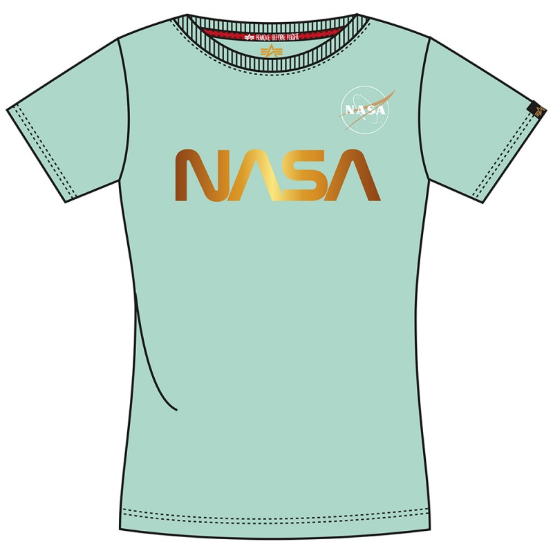 NASA PM T Woman - pastel mint