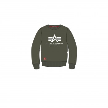 Basic Sweater Kids - dark olive