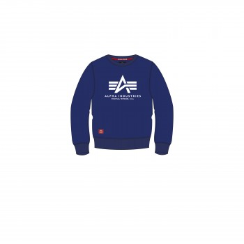 Basic Sweater Kids - nautical blue