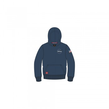 Space Shuttle Hoody Kids - replica blue