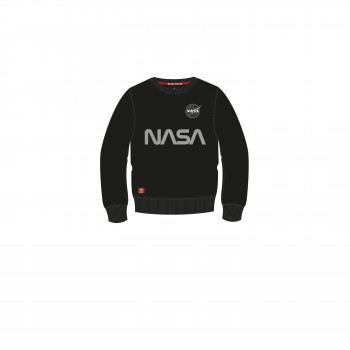 NASA Reflective Sweater Kids - black