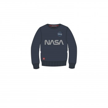NASA Reflective Sweater Kids - replica blue