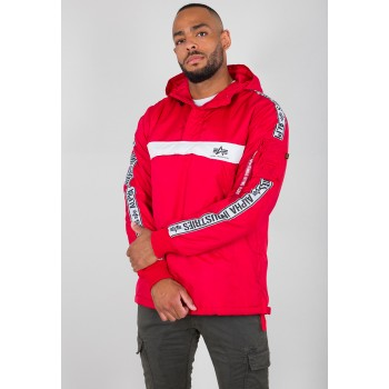 AI Tape Anorak - speed red