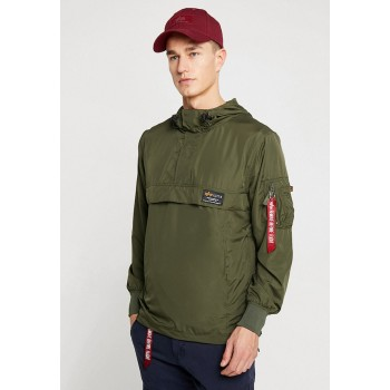 Glider Anorak w/o backprint  - dark olive