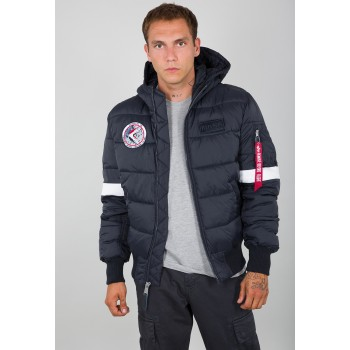 Hooded Puffer FD NASA - rep.blue