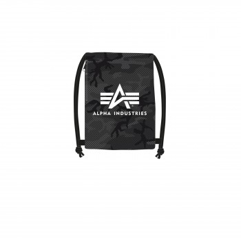 Basic Gym Bag - black camo