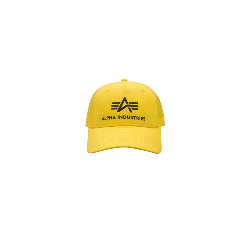 Basic Trucker Cap - prime yellow