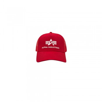 Basic Trucker Cap - speed red