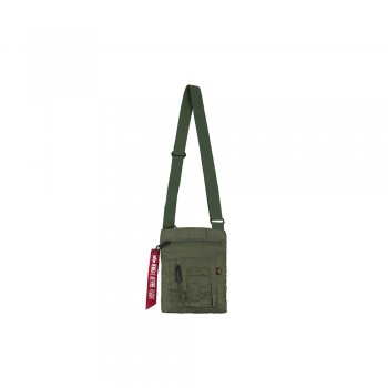 Crew Messenger Bag - sage green