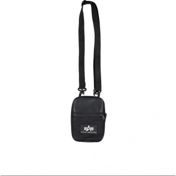 Rubber Print Utility Bag - black
