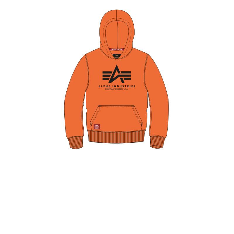 Basic Hoody Kids/Teens - alpha orange