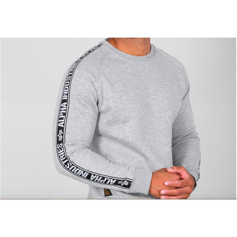 AI Tape Sweater - greyheather