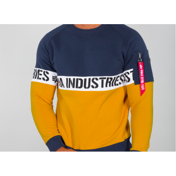 AI Stripe Sweater - new navy