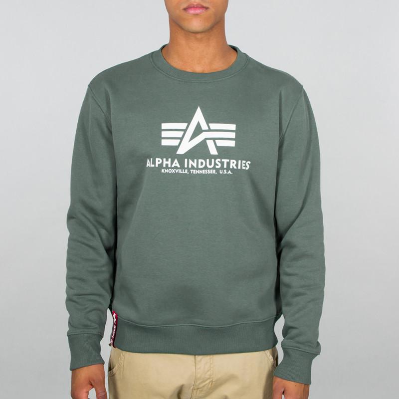 Basic Sweater - vintage green