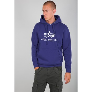 Basic Hoody - nautical blue