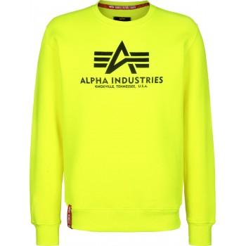 Basic Sweater Neon - neon/yellow