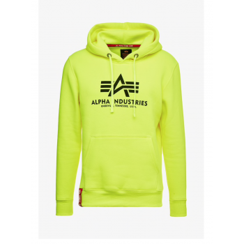 Basic Hoody Neon - neon/yellow