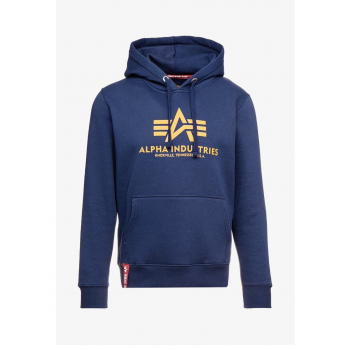 Basic Hoody - new navy/wheat