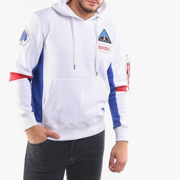 Space Camp Hoody - white