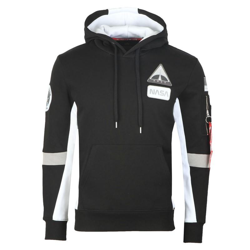 Space Camp Hoody - black